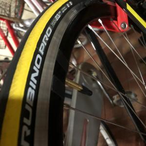 自転車整備 Vittoria Rubino Pro G+を試す