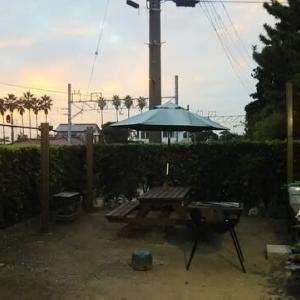 villaはまかなやの夕景