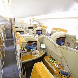 夏休みのヨーロッパ 往路はエミレーツ航空A380ファーストクラス