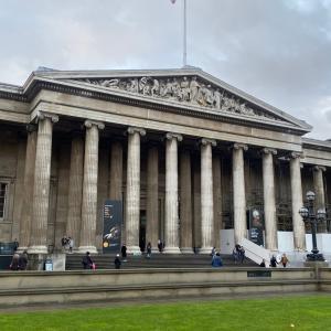 ロンドン&パリ8日間【2日目】大英博物館とロンドン散歩