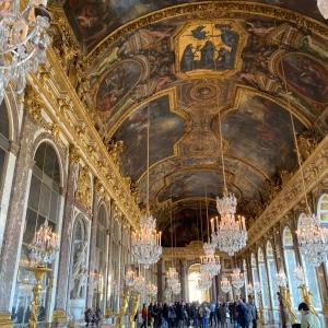 ロンドン&パリ8日間【5日目】パリ定番観光①ベルサイユ宮殿