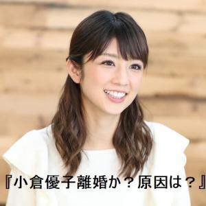 小倉優子歯医者の夫と離婚か?原因は性格の不一致だけではなかった!