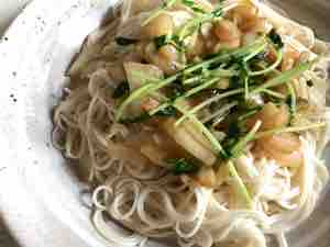 素麺チャンプル