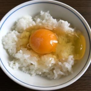 朝の卵かけご飯