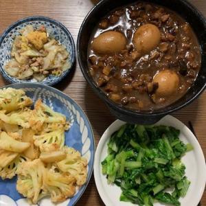 本場の中華料理再び(金銭蛋、紅焼肉、珍珠丸子など)