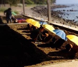 【砂浴 福岡】混同されやすい「砂むし」と自然療法「砂浴療法」の違いについて⛱