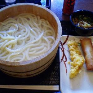 丸亀製麺で釜揚げうどん
