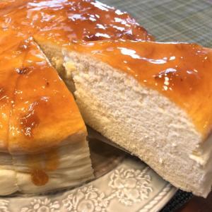 【低糖質/Low Carb】スフレチーズケーキ