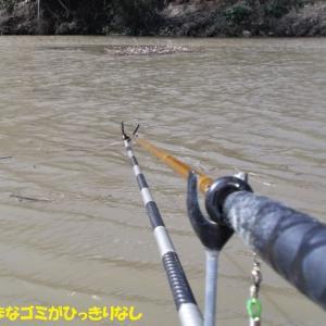 3月14日 市野川 強風ガンガン流れ釣行
