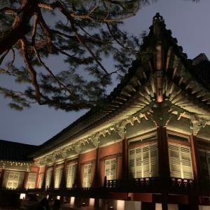 「景福宮」の夜間観覧へ行ってきました!