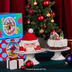 「パリバケット」のクリスマスケーキ