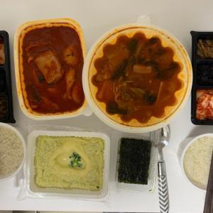 タッポックムタンとカムジャタン一緒に食べれるこの文化最高