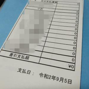 本当に給料が❝0円❞でした。