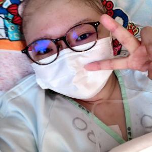 乳がんの手術の日。