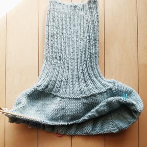 Caramel Sweater  ~進捗状況1~ ヨーク絶賛爆編中!