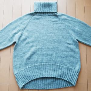 Caramel Sweater 完成!