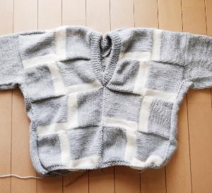 Kurt ~進捗状況4~ 両袖完成!残すは裾のみ!