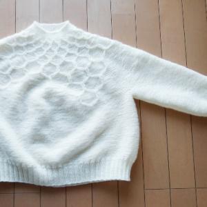 Wool&Honey ~進捗状況4~ 袖作成中!