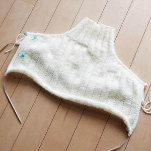 Sea Sweater ~進捗状況1~ ヨーク完成!