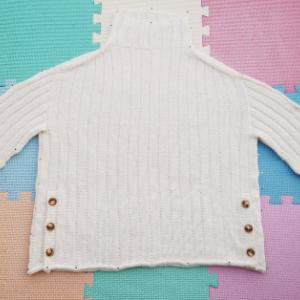 Sea Sweater ~進捗状況5~ ブロッキングして乾燥中!