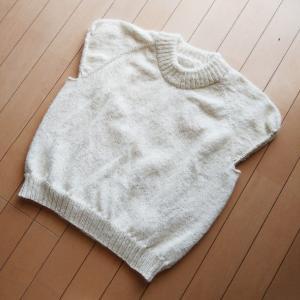 Holiday Sweater ~進捗状況2~ 身頃完成!えり完成!