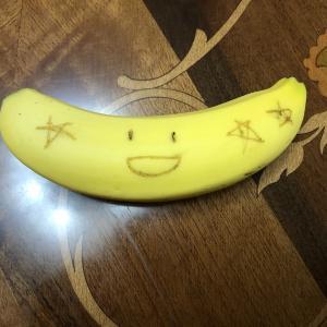 バナナアート♪