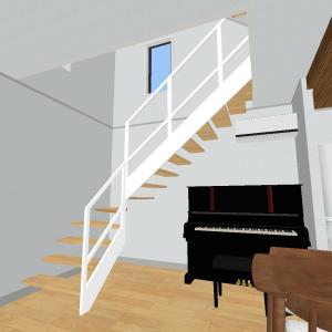 階段のこだわり⑦(鉄骨階段の種類)
