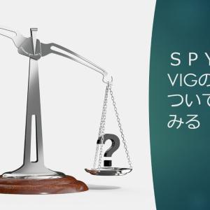 SPYDとVIGの相性について考えてみる