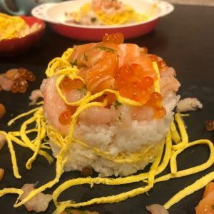 コストコ寿司でちらし寿司ケーキと新発売スイーツ