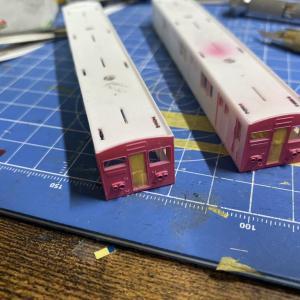 大阪メトロ]大阪市営地下鉄30系千日前線仕様を作る3 色をぬりたい