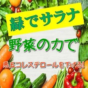 野菜の力でコレステロールを低下させる緑でサラナ!口コミや評判をチェック!