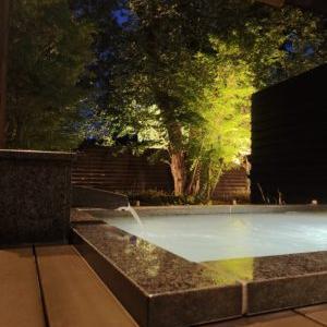 【山形市・悠湯の郷ゆさ】庭園を見ながらゆったり子連れOK!広々客室露天風呂(温泉)の高級旅館 旅行ブログ