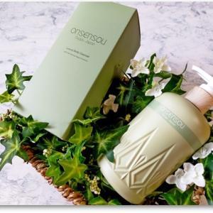高貴な白檀がふんわり香る ONSENSOU 温泉藻配合ボディクレンザー