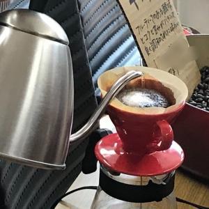 コーヒーは回さずにね