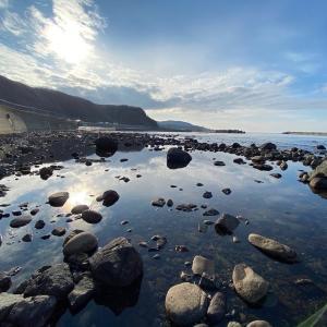 今日の奥尻島の海