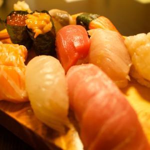 奥尻島のお寿司