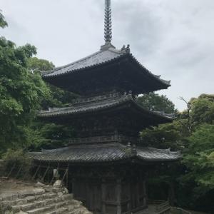 安土城跡と摠見寺