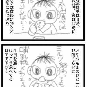 10ヶ月児の1日(食事編)
