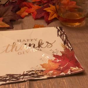 Happy Thanksgiving day!(交換留学日記#20)