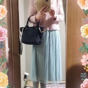 【コーディネート】【ファッション】~20年2月22日のコーディネート  プチプラコーディネート  大人かわいい  プチプラ