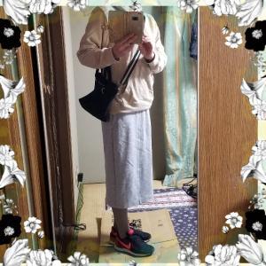 【コーディネート】【ファッション】~20年4月2日のコーディネート  プチプラ プチプラコーディネート 大人かわいい