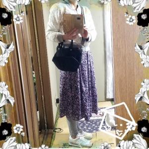 【コーディネート】【ファッション】~20年4月17日のコーディネート  プチプラ プチプラコーディネート 大人かわいい