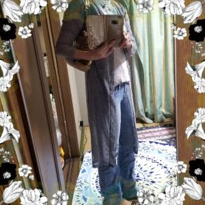 【コーディネート】【ファッション】~20年5月21日のコーディネート  プチプラファッション プチプラ 着回しコーデ 大人かわいい