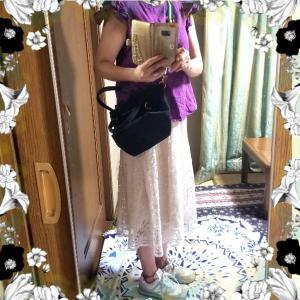 【コーディネート】【ファッション】~20年5月24日のコーディネート  プチプラファッション プチプラ 大人かわいい  着回しコーデ