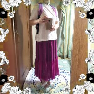 【コーディネート】【着画】【着回し】~20年6月4日のコーディネート  プチプラ  プチプラファッション 着画コーデ 大人かわいい