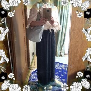 【着画】【コーディネート】~20年7月29日のコーディネート  ファッションブログ 主婦ブログ  プチプラコーディネート 大人かわいい  ナチュラル