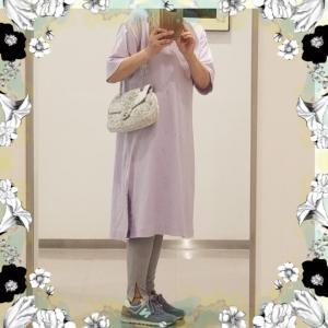 【着画】【コーディネート】~20年8月9にのコーディネート  プチプラ  プチプラコーディネート 大人かわいい しまむら 主婦ブログ