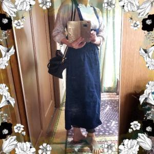 【着画】【コーディネート】~20年10月13日のコーディネート  プチプラ プチプラコーディネート 主婦ブログ