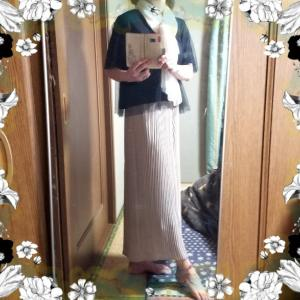 【着画】【コーディネート】~21年6月1日のコーディネート  プチプラ プチプラコーデ 大人かわいい 主婦ブログ