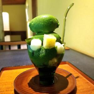 【京都】【スィーツ】『無碍山房 サロンドムゲ』に行ってきました。京都観光 抹茶パフェ 甘味処